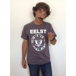 T-shirt Punk grigia