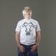 T-shirt Pipppero grigia