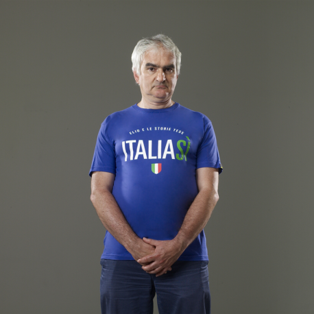 T-shirt Italia Si Italia No
