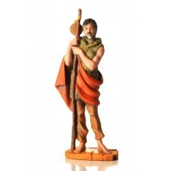 Il presepe di EelST: la statuetta di Rocco Tanica
