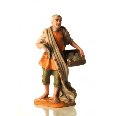 Il presepe di EelST: la statuetta di Mangoni