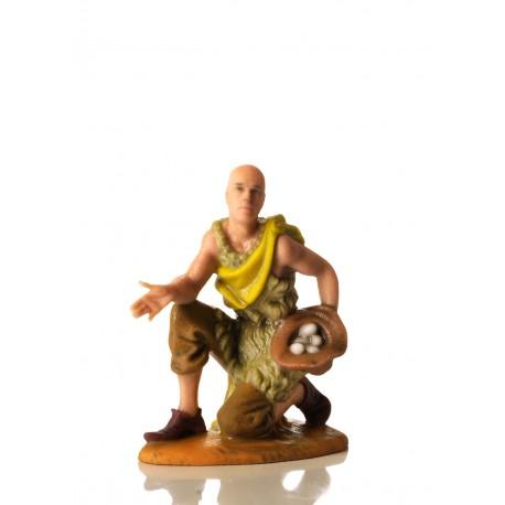 Il presepe di EelST: la statuetta di Christian Meyer