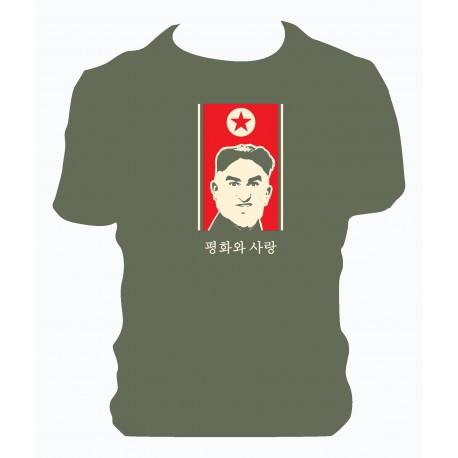 T-shirt Mangoni Kim Jong