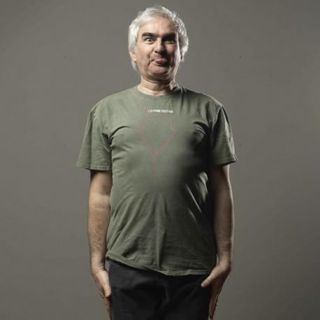 T-shirt Palloncino Bisio e le Storie Tese - verde militare