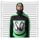 Supergiovane - costume ufficiale - Taglia bambino (12 anni)