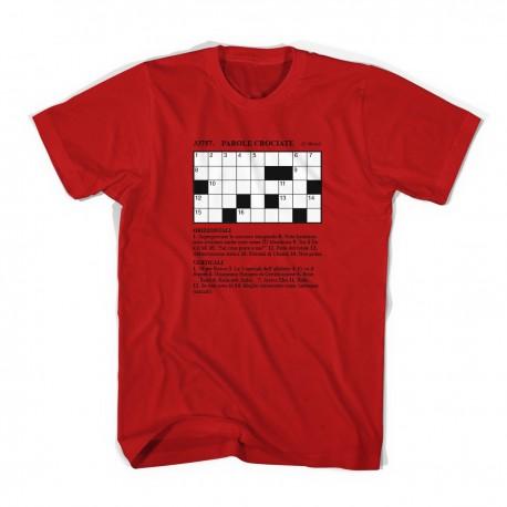 T-shirt Dieci Orizzontale (con pennarone)