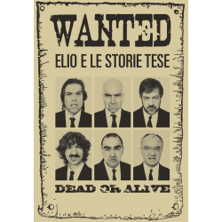 Poster Elio e le Storie Tese Wanted