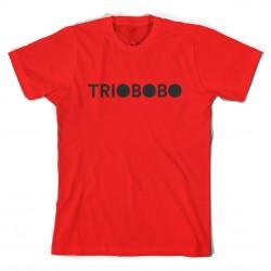 T-shirt Trio Bobo Logo - rossa