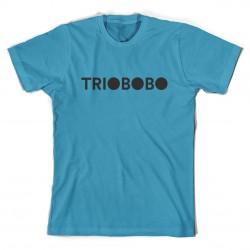 T-shirt Trio Bobo Logo - azzurra