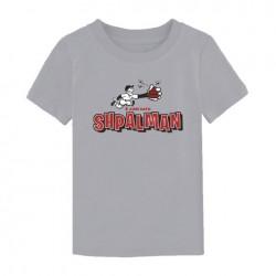 T-shirt Shpalman (Bimbo) - grigia