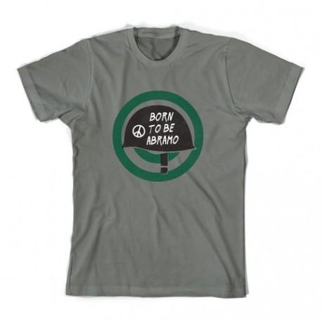 T-shirt Born to be Abramo - kaki