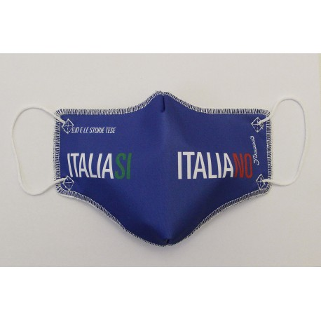 Mascherina Italia Si Italia No