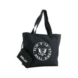 La borsa da spiaggia Punk (Nera)