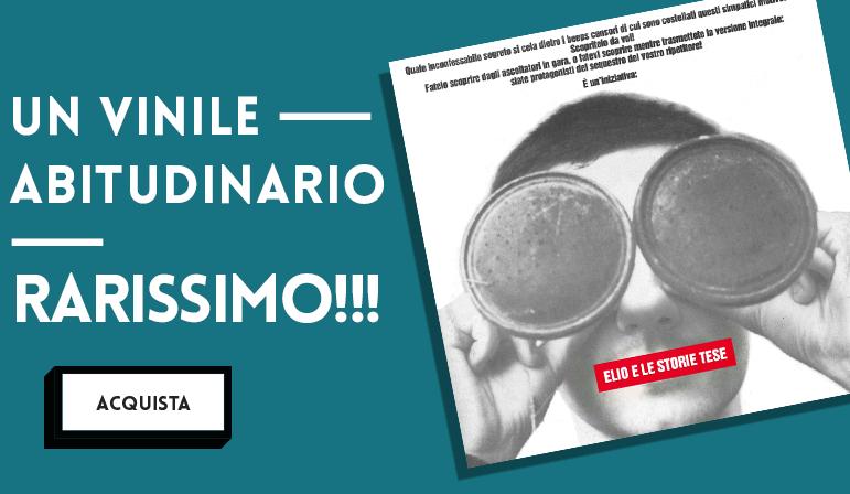 """Maxi singolo in vinile contenente due versioni di """"Nubi di ieri sul nostro domani odierno (abitudinario)"""" e """"Cara ti amo"""""""