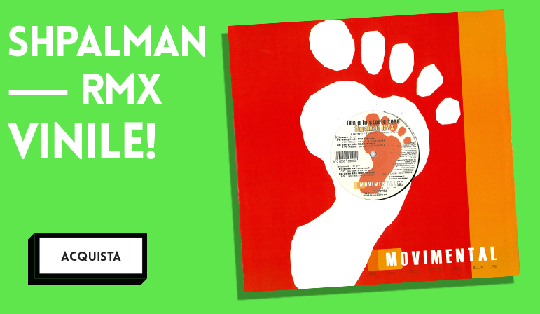 Raro singolo in vinile che comprende quattro remix di Shpalman